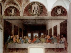 Leonardo's Last Supper in Milan