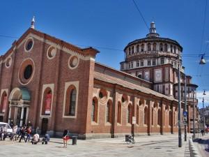 Church Santa Maria delle Grazie in Milan