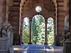 Famedio zgrada Monumentalnog groblja u Milanu