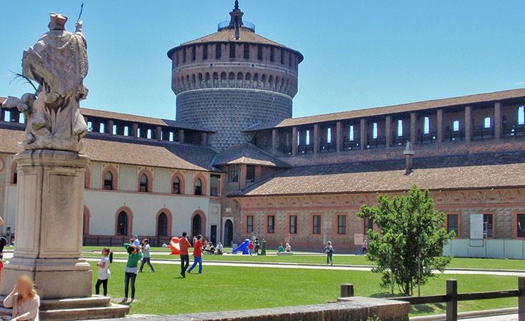 Zamak Sforca u Milanu