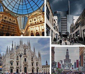 Sights in Milan