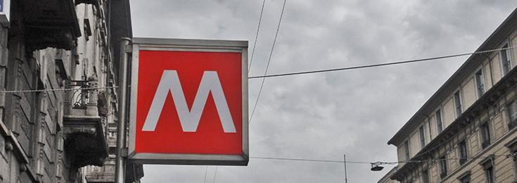 Metro in Milan