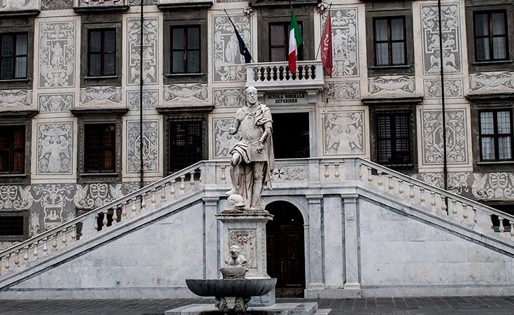 Piazza dei Cavalieri in Pisa