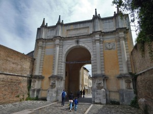 Adriana Gate in Ravenna
