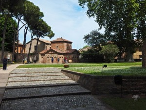 Mausoleum Galla Placidia in Ravenna