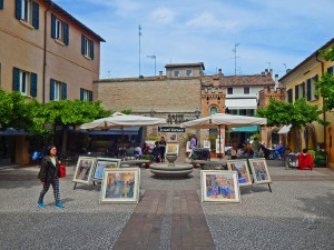 City of Ravenna in Italy