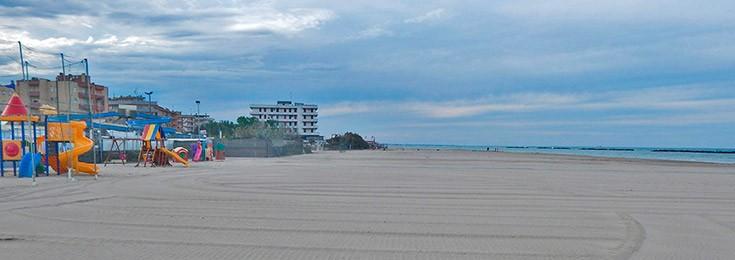 Lido Adriano plaža u Raveni