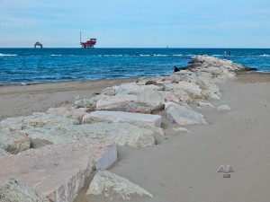 Lido di Dante Beach next to Ravena