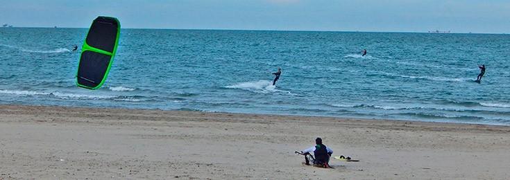 Plaža Lido di Dante pored Ravene