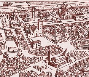 Mapa Ravene