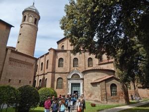 Fasada bazilike Svetog Vitalea u Raveni