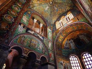Prelepi vizantijski mozaici u bazilici Svetog Vitalea u Raveni