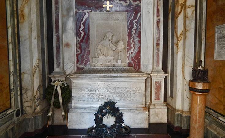 Dante Alighieri's Tomb