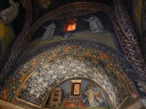 Byzantine mosaics in the Mausoleum Galla Placidia