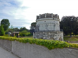 The Mausoleum of Theoderic in Ravenna