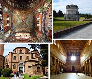 Sights in Ravenna