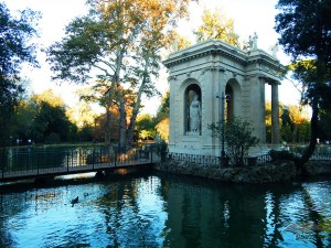 Park vila Borghese u Rimu
