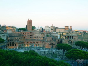 The Imperial Forums in Rome
