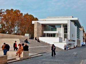 Ara Pacis Museum in Rome