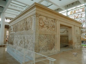 Altar of Peace built in honor of Octavian August