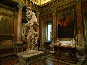 Borghese Art Gallery in Rome