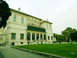 Entrance to the Borghese Art Gallery