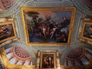 Breathtaking ceilings of Borghese Gallery