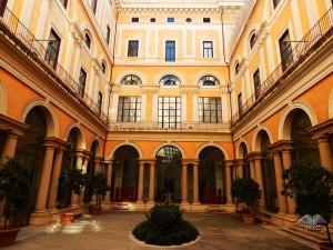Dvorište muzeja Palazzo Massimo u Rimu