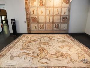 Antički rimski mozaici u muzeju Palazzo Massimo u Rimu