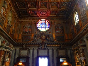 Inside of the Basilica Santa Maria Major
