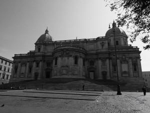 Fasada bazilike Santa Maria Maggiore u Rimu