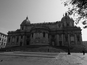 Façade of the Basilica Santa Maria Major