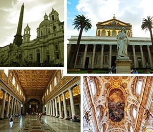 Religious sights in Rome