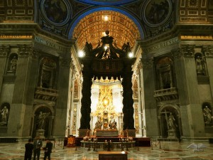 Saint Peter's Cathedral in Rome