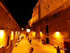 Inside of the Castel Sant'Angelo