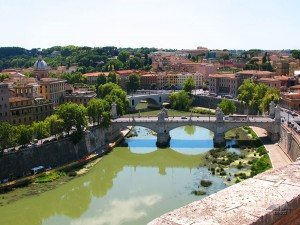 View from the Castel Sant'Angelo