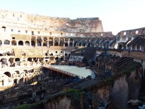 Unutrašnjost rimskog Koloseuma