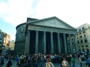 Pantheon Temple in Rome