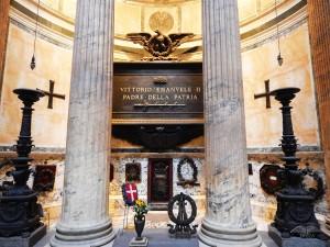 Grave of Vittorio Emanuele II