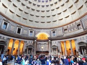 Unutrašnjost Panteona u Rimu