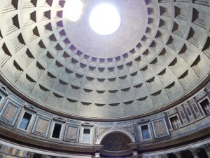 Interior of the Pantheon Temple
