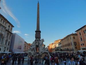 Domicijanov obelisk na trgu Navona u Rimu