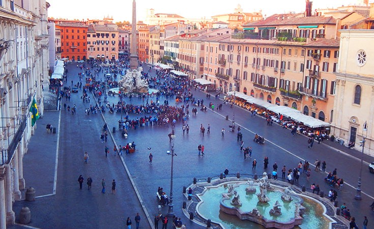 Piazza Navona u Rimu
