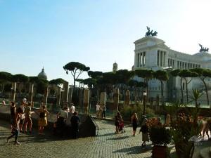 Vitorijano spomenik na trgu Venecija u Rimu