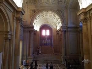 Unutrašnjost Vitorijano spomenika na trgu Venecija u Rimu