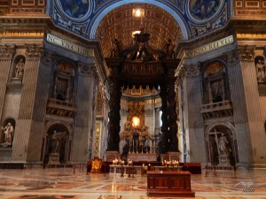 Unutrašnjost bazilike Svetog Petra
