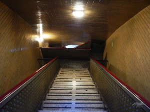 Uske stepenice koje vode do kupole bazilike