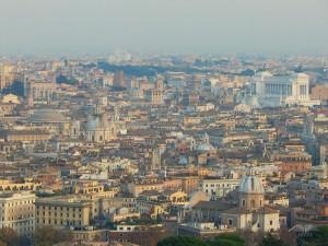 Pogled sa kupole bazilike Svetog Petra