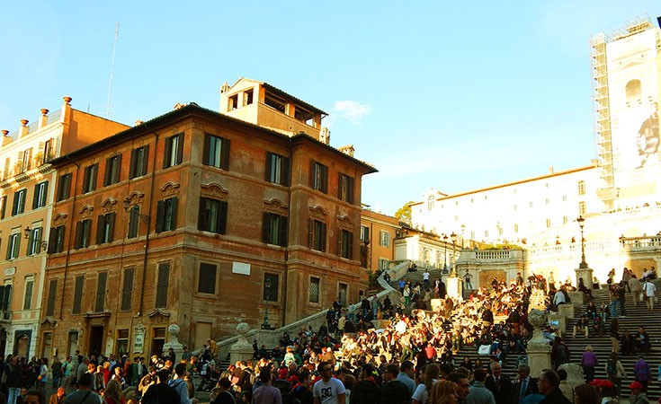 Spanish Steps and Spanish Square