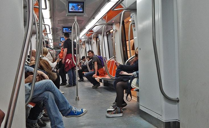 Metro in Rome